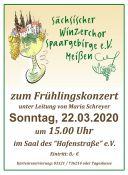 Bild zu Frühlingskonzert des Winzerchor Meißen
